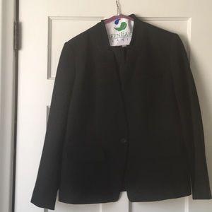 Jackets & Blazers - LOFT black boyfriend blazer